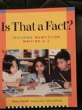 Is That a Fact? Teaching Nonfiction Writing K-3 in Okinawa, Japan