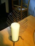 Candleabra with Candles in Ramstein, Germany