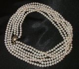 STUNNING VINTAGE LOOK CULTURED PEARL NECKLACE in Fort Campbell, Kentucky