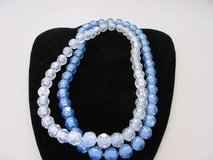 Double strand of vintage faceted pop beads in Kingwood, Texas