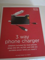 3way universal cellular phone charger in Wilmington, North Carolina