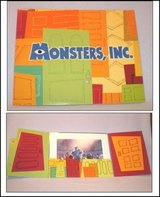 Disney Lithograph Monsters Inc. Set Lithos in Kingwood, Texas