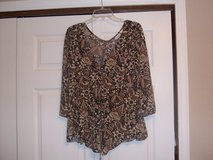 Womens  silky top in Fort Riley, Kansas