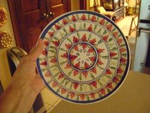 Handpainted Italian Plate -- With Built-In Hanger in Kingwood, Texas