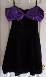 Retro 1994 Black/Purple Velvet Dress in Fort Campbell, Kentucky